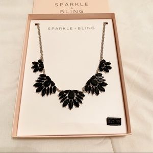 Sparkle & Bling | Silver Statement Necklace